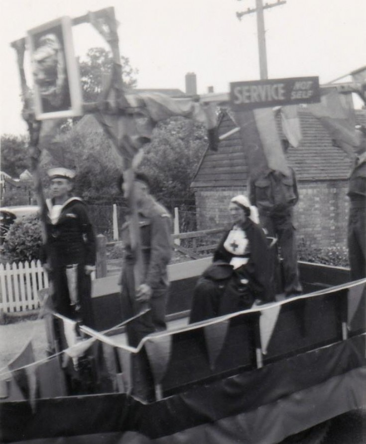 Coronation Parade with the Armed Services