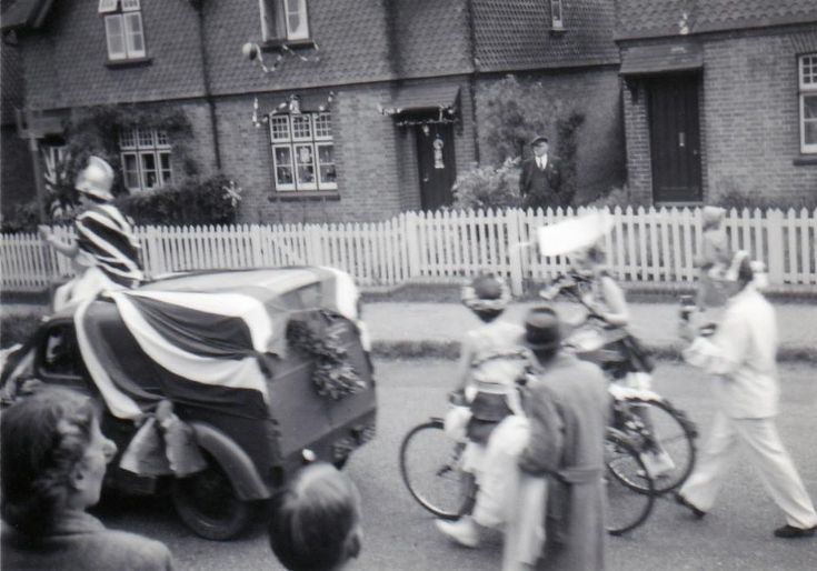 Coronation Parade with Britannia