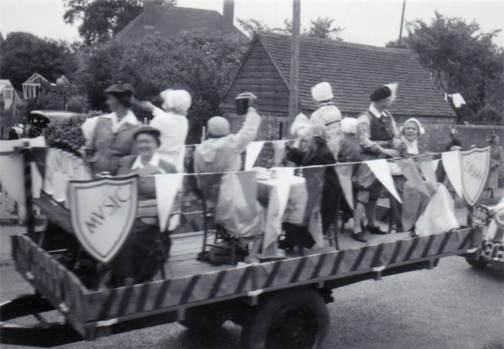 Coronation Parade with Women's Institute