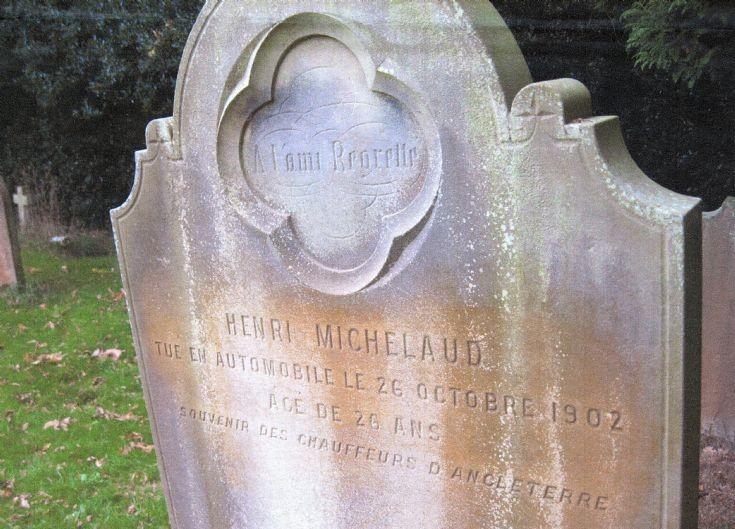 Gravestone in Slaugham churchyard