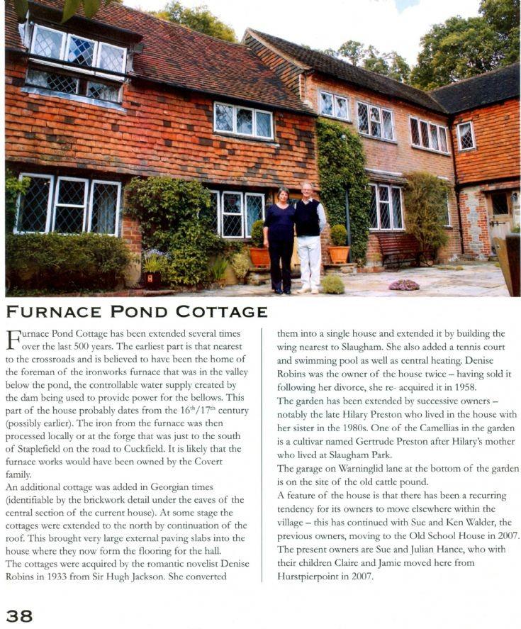 Furnace Pond Cottage, Slaugham