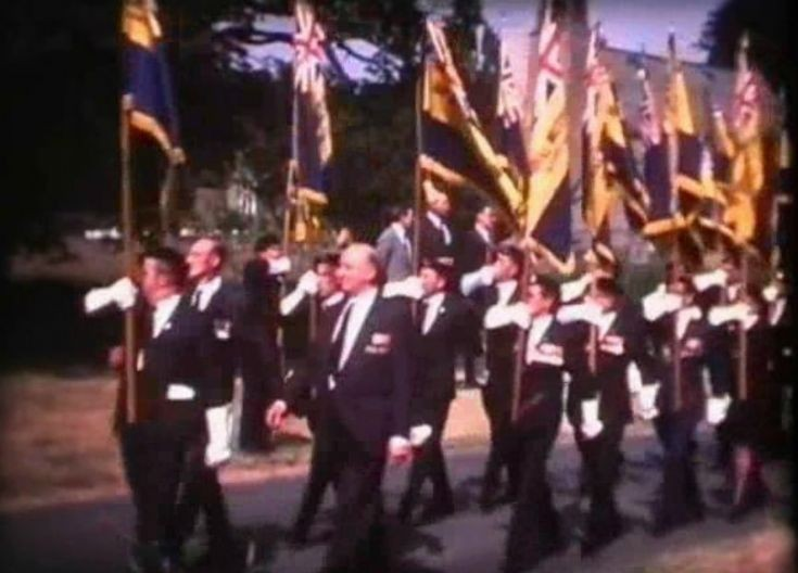 British Legion parade at Staplefield