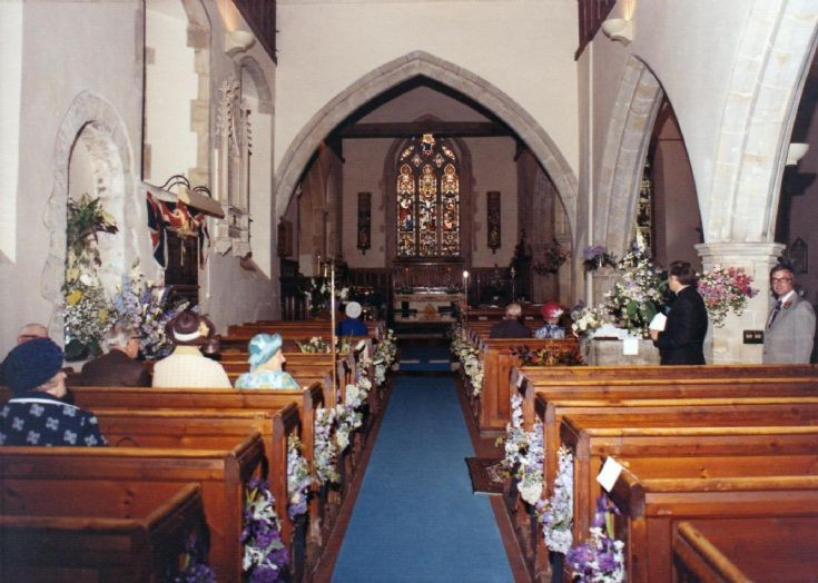 Flower Festival at St. Mary's church, Slaugham