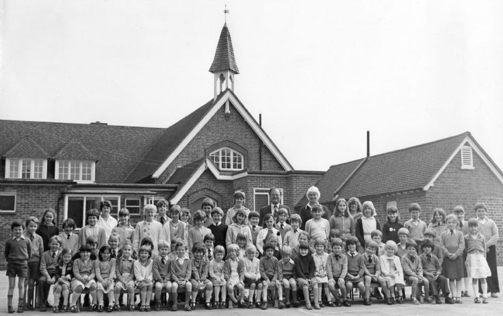 Pupils and staff of Warninglid School