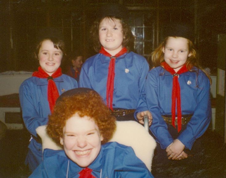 1st Staplefield Girl Guides