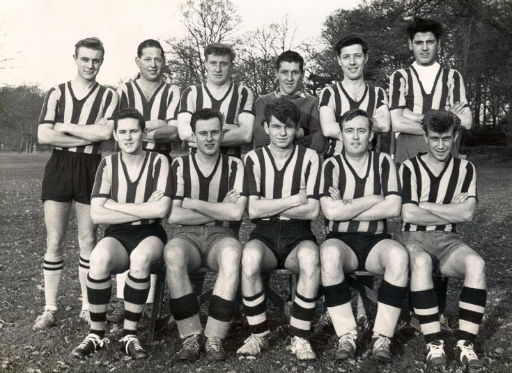Handcross football team 1962