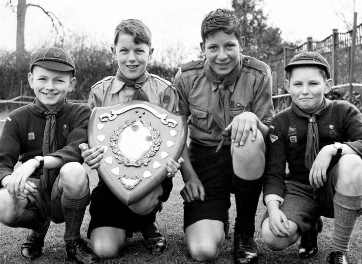 Slaugham scouts win marbles trophy