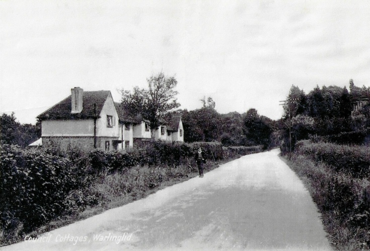 Council Cottages, Warninglid