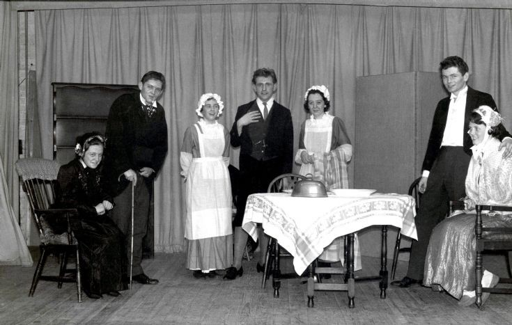 Mystery play in the Parish Hall