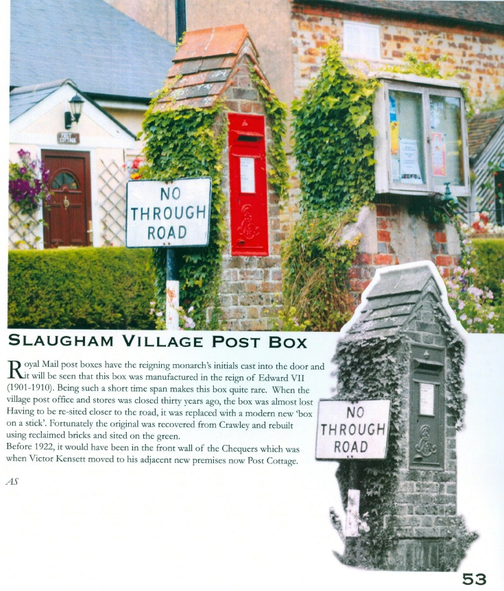 Village Post Box, Slaugham