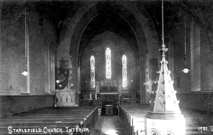 Staplefield church interior