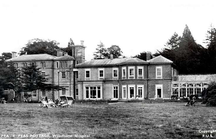 Woodhurst Hospital and gardens
